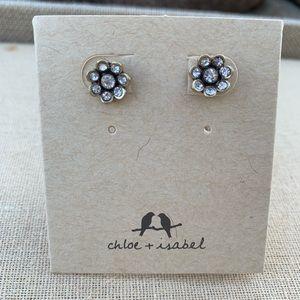 Chloe + Isabel Souviens Crystal Stud Earrings
